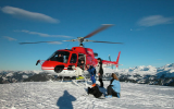Heliski in Switzerland!