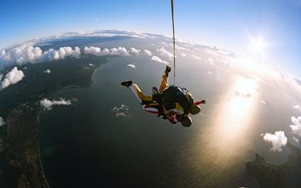 saut en parachute suisse