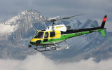Helicopter flights all over Switzerland.