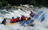 Whitewater Rafting in Switzerland! Rafting in Interlaken, Gstaad Saanenland, Berner Oberland, Graubünden (Surselva), Engadin and Valais.