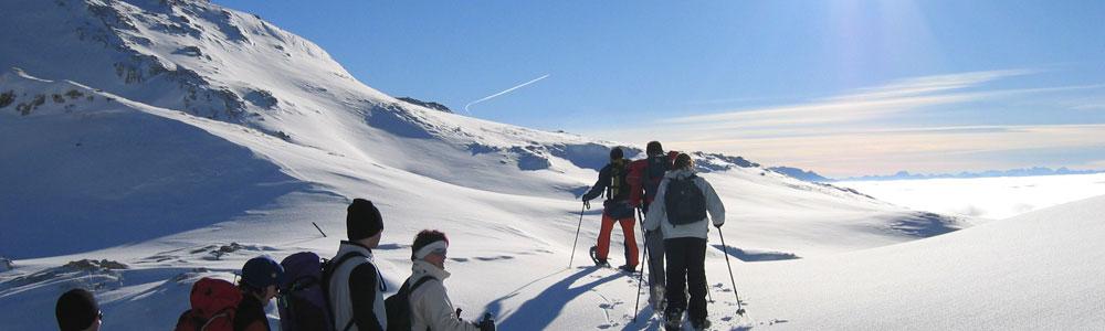 SNOWSHOES TREKKING